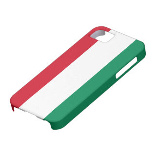 Hungary Flag iPhone SE/5/5s Case
