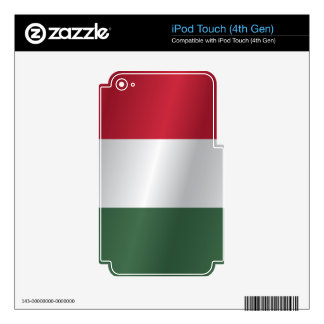 Hungary flag iPod touch 4G skins