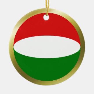 Hungary Flag Ornament