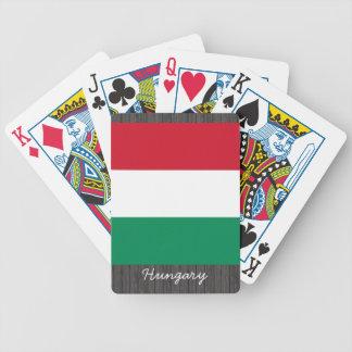 Hungary Flag Playing Cards