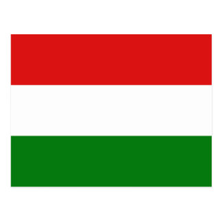 Hungary Flag Postcard