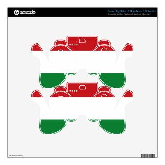 Hungary flag PS3 controller decal