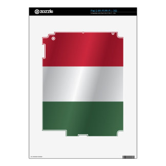 Hungary flag skins for the iPad 2