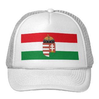 Hungary Flag w COA Hat