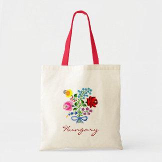 Hungary Flower Tote Bag