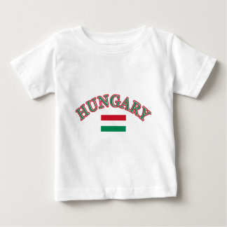 Hungary football design baby T-Shirt