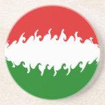 Hungary Gnarly Flag Coaster