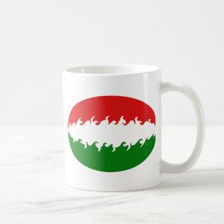 Hungary Gnarly Flag Mug