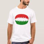 Hungary Gnarly Flag T-Shirt