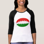 Hungary Gnarly Flag T-Shirt