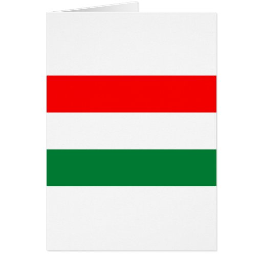 HUNGARY GREETING CARD