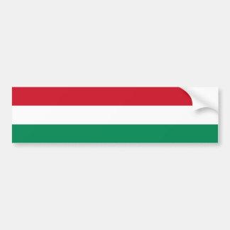 Hungary/Hungarian Flag Bumper Sticker