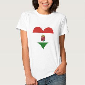 Hungary Hungarian flag T Shirts