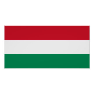 Hungary – Hungarian National Flag Poster