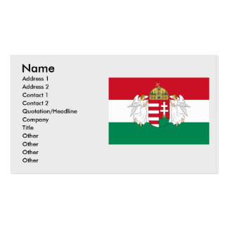 Hungary , Hungary Double-Sided Standard Business Cards (Pack Of 100)