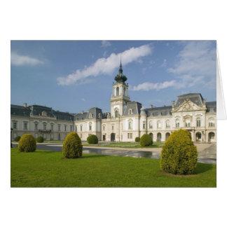 HUNGARY, Lake Balaton Region, KESZTHELY: 2 Greeting Card
