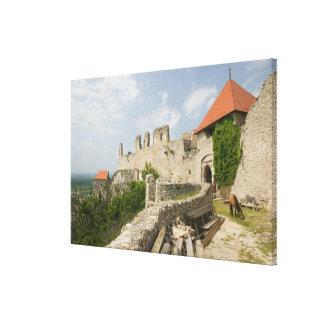 HUNGARY, Lake Balaton Region, SUMEG: Sumeg Canvas Print
