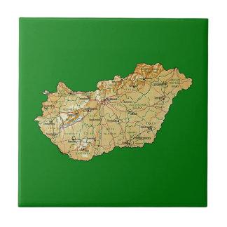 Hungary Map Tile