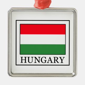 Hungary Metal Ornament