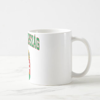 Hungary Classic White Coffee Mug
