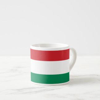 Hungary Plain Flag Espresso Cup