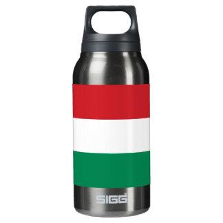 Hungary Plain Flag Insulated Water Bottle