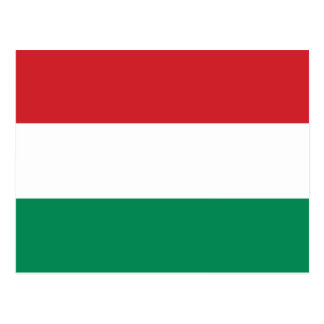 Hungary Plain Flag Postcard