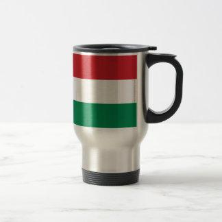 Hungary Plain Flag Travel Mug