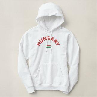 Hungary pullover hoodie - Hajrá Magyarok!