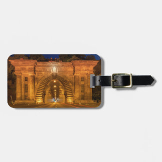 Hungary Road Highway Tunnel Luggage Tag