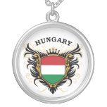 Hungary Round Pendant Necklace