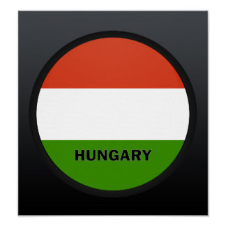 Hungary Roundel quality Flag Print