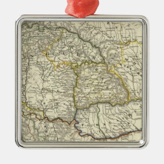 Hungary since 1526 Lander Metal Ornament