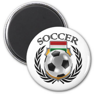 Hungary Soccer 2016 Fan Gear 2 Inch Round Magnet
