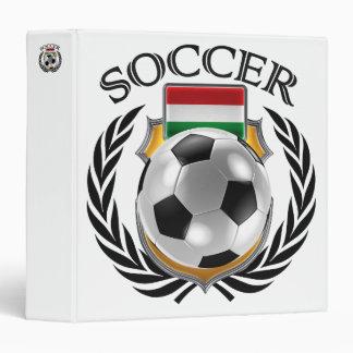 Hungary Soccer 2016 Fan Gear Binder