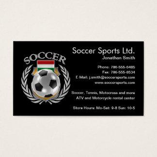 Hungary Soccer 2016 Fan Gear Business Card