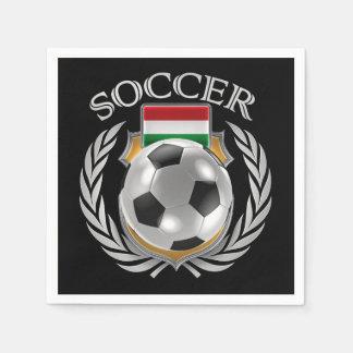 Hungary Soccer 2016 Fan Gear Paper Napkin