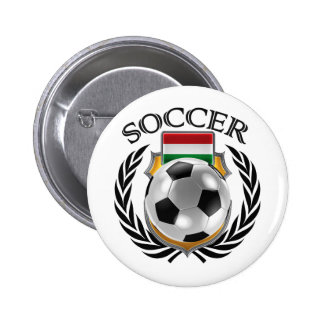 Hungary Soccer 2016 Fan Gear Pinback Button