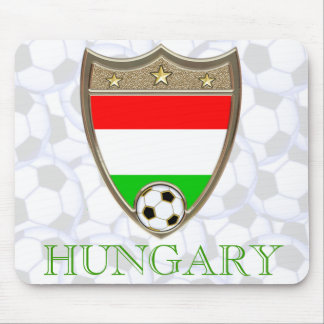 Hungary Soccer Mouse Pad
