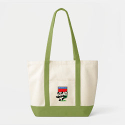 Impulse Tote Bag with Hungary Football Panda design