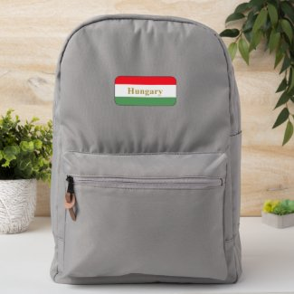 Hungary-  tricolor patch