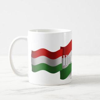 Hungary Waving Flag Coffee Mugs