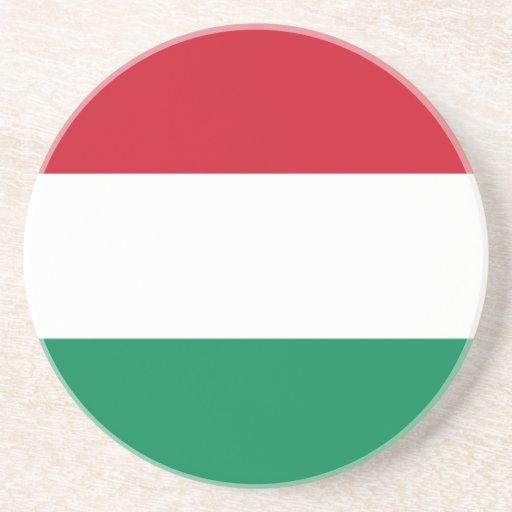 Hungary With Border, Honduras flag Coaster
