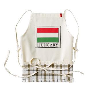 Hungary Zazzle HEART Apron