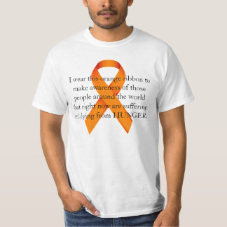 Hunger Awareness 1 T-Shirt