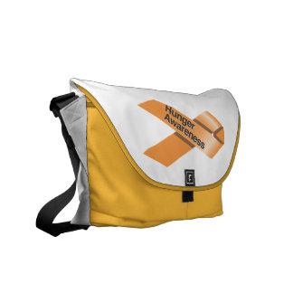 Hunger Awareness Messenger Bag