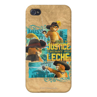 Hunger For Justice Covers For iPhone 4