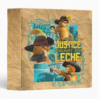 Hunger For Justice Vinyl Binder