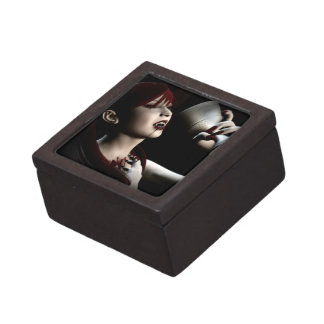 Hunger Vampire Goth Pinup Art Premium Gift Boxes