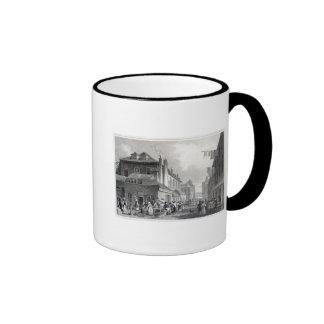 Hungerford Market, Strand, engraved Thomas Coffee Mug